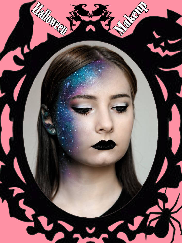 Halloween Makeup Ideas For Ladies S1-23