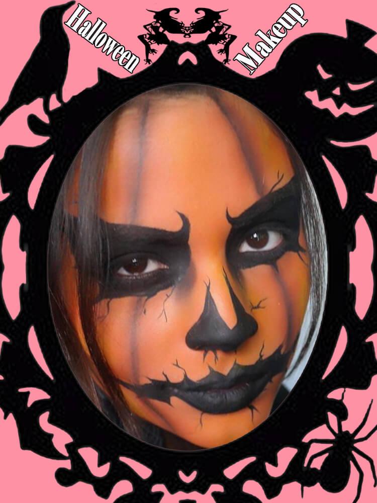 Halloween Makeup Ideas For Ladies S1-25