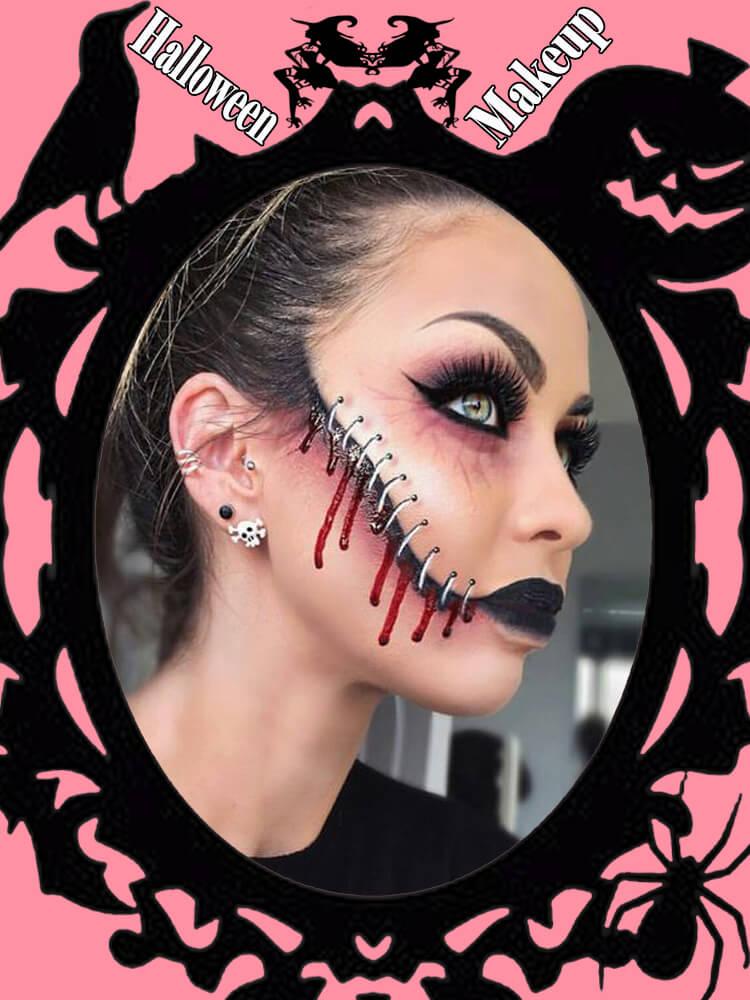 Halloween Makeup Ideas For Ladies S1-27