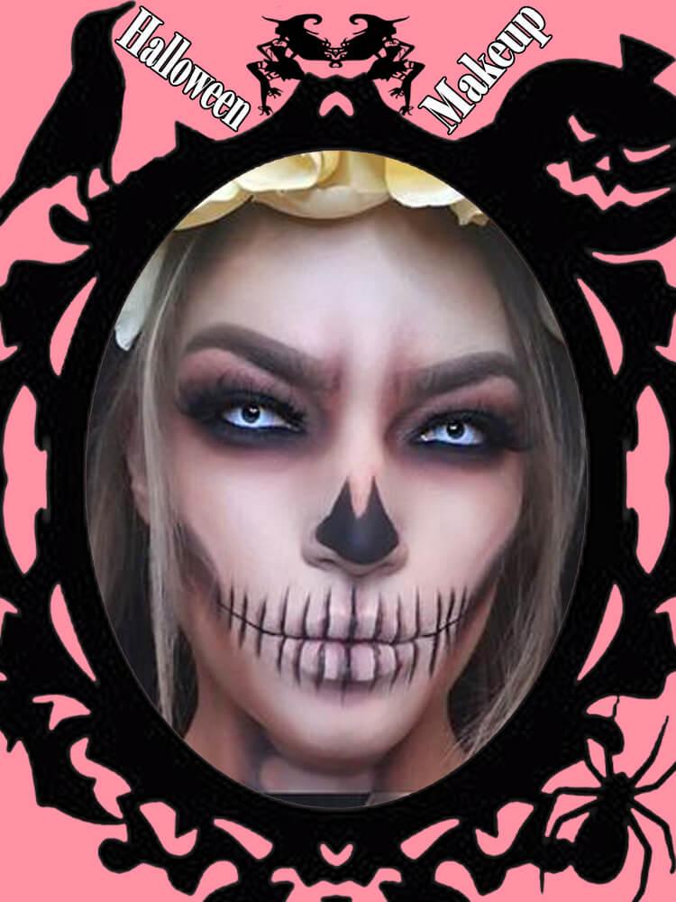 Halloween Makeup Ideas For Ladies S1-28