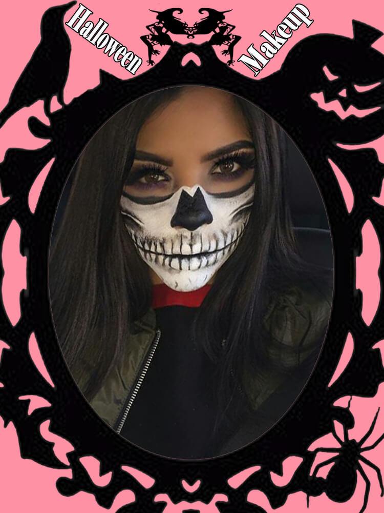 Halloween Makeup Ideas For Ladies S1-29