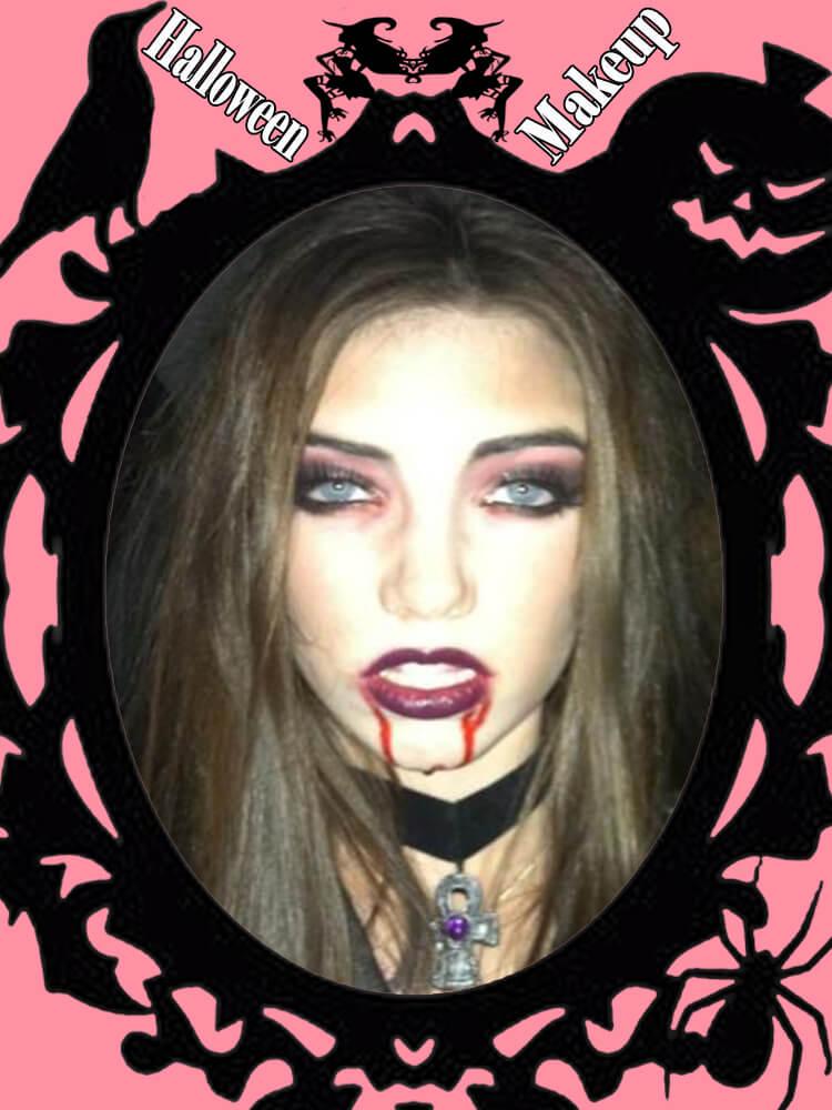 Halloween Makeup Ideas For Ladies S1-3