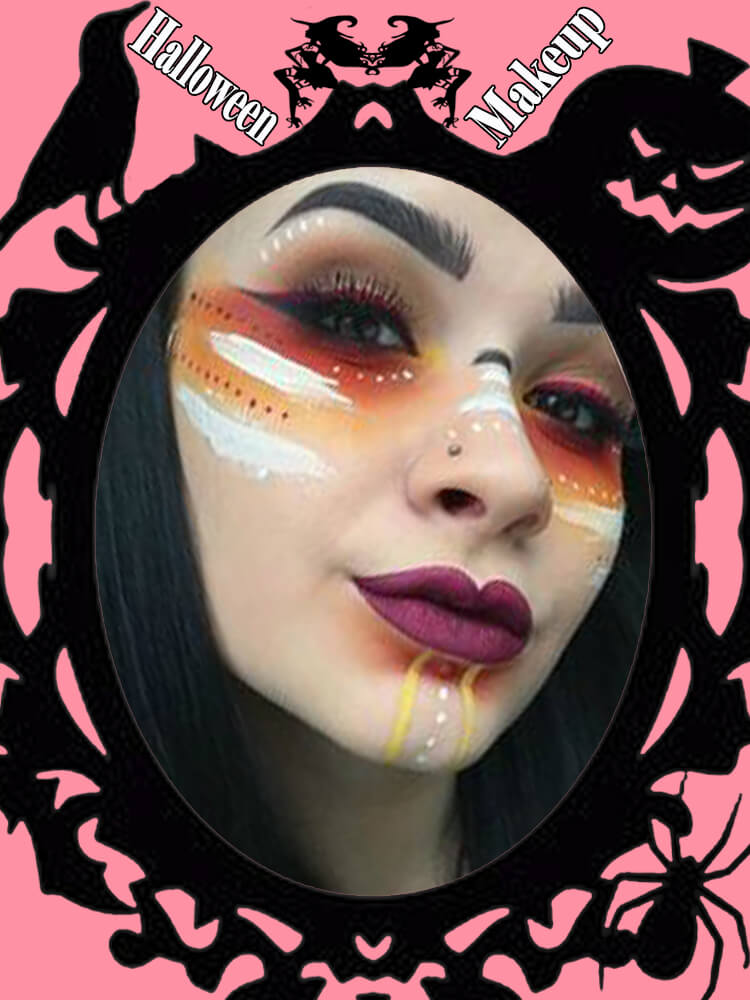 Halloween Makeup Ideas For Ladies S1-4