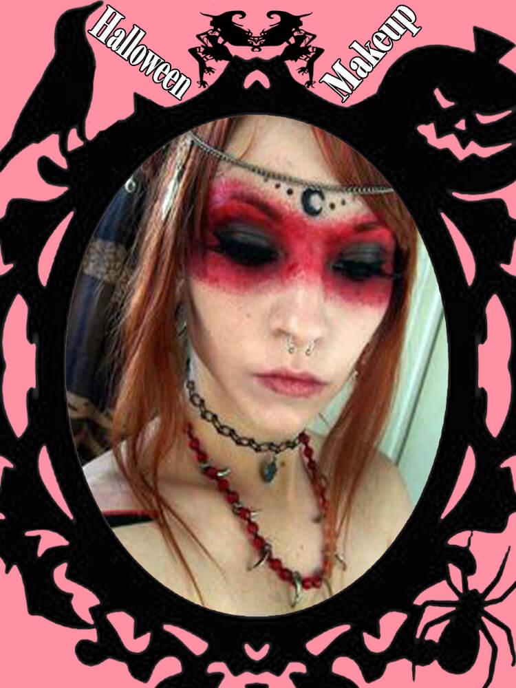 Halloween Makeup Ideas For Ladies S1-5