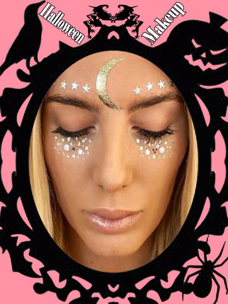 Halloween Makeup Ideas For Ladies S1-6