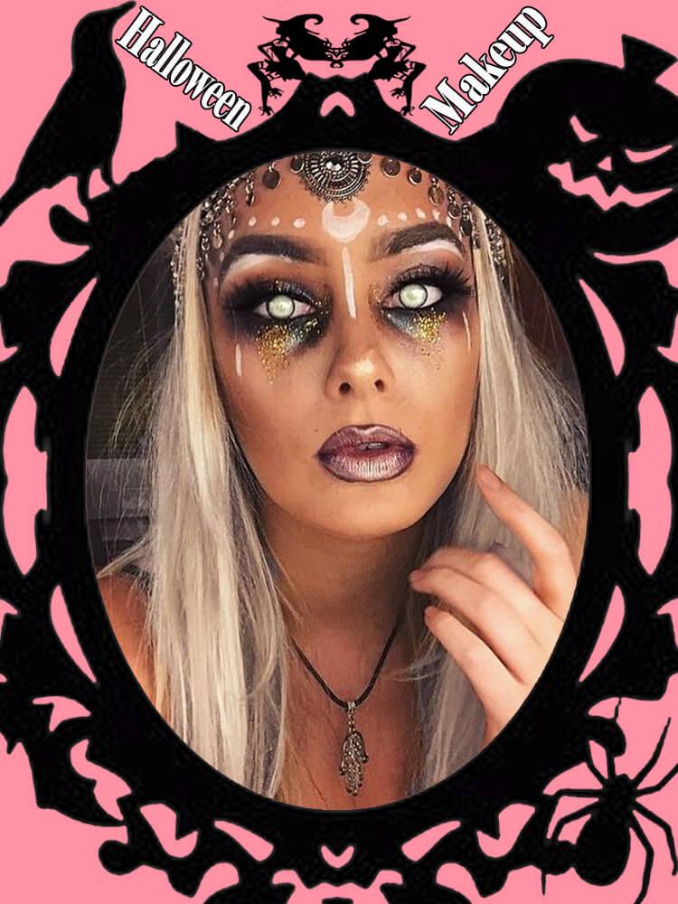 Halloween Makeup Ideas For Ladies S1-7