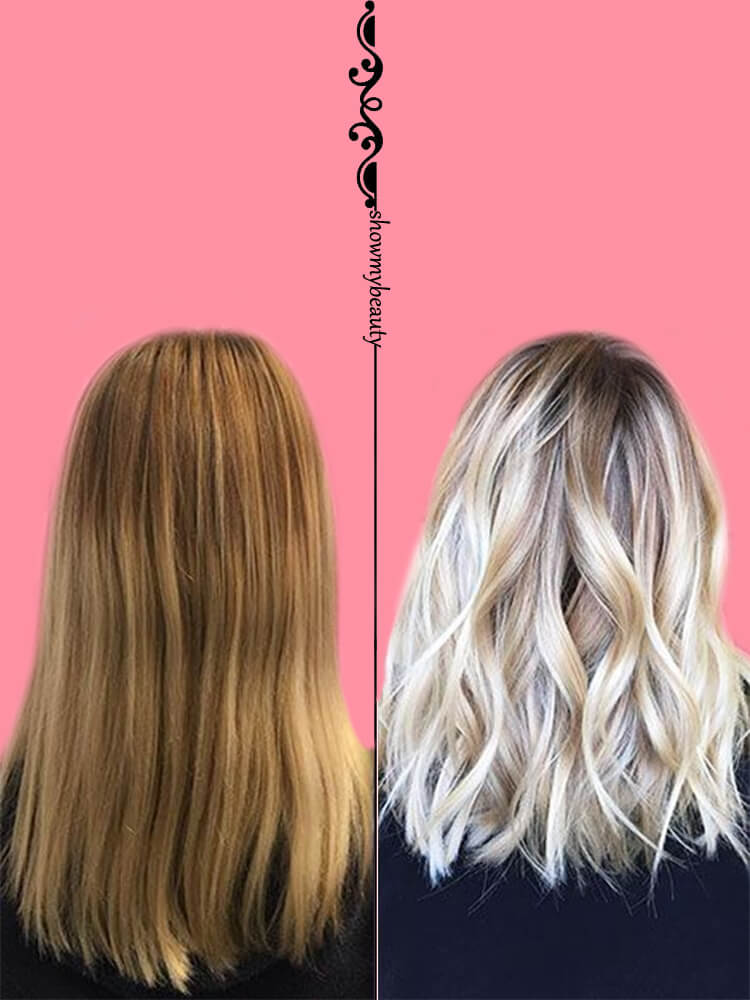 Get Some Platinum on Hair to Inspire Your Hairstyles Before and After 5