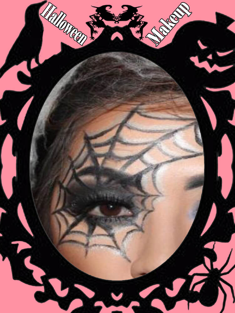 Halloween Eyeliner Makeup Ideas for Ladies 10