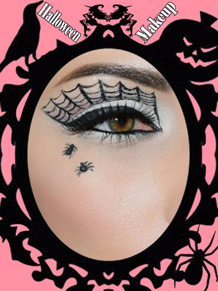 Halloween Eyeliner Makeup Ideas for Ladies 13