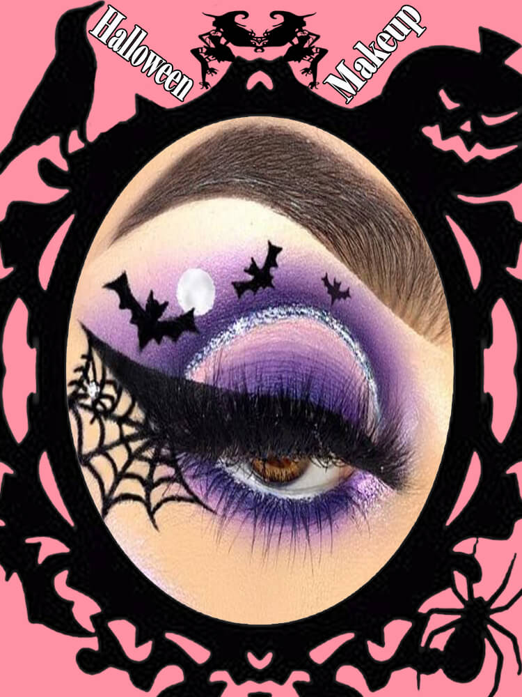 Halloween Eyeliner Makeup Ideas for Ladies 14