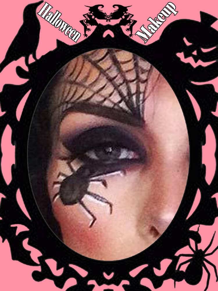 Halloween Eyeliner Makeup Ideas for Ladies 15