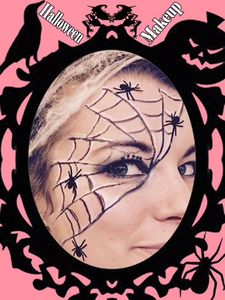 Halloween Eyeliner Makeup Ideas for Ladies 16