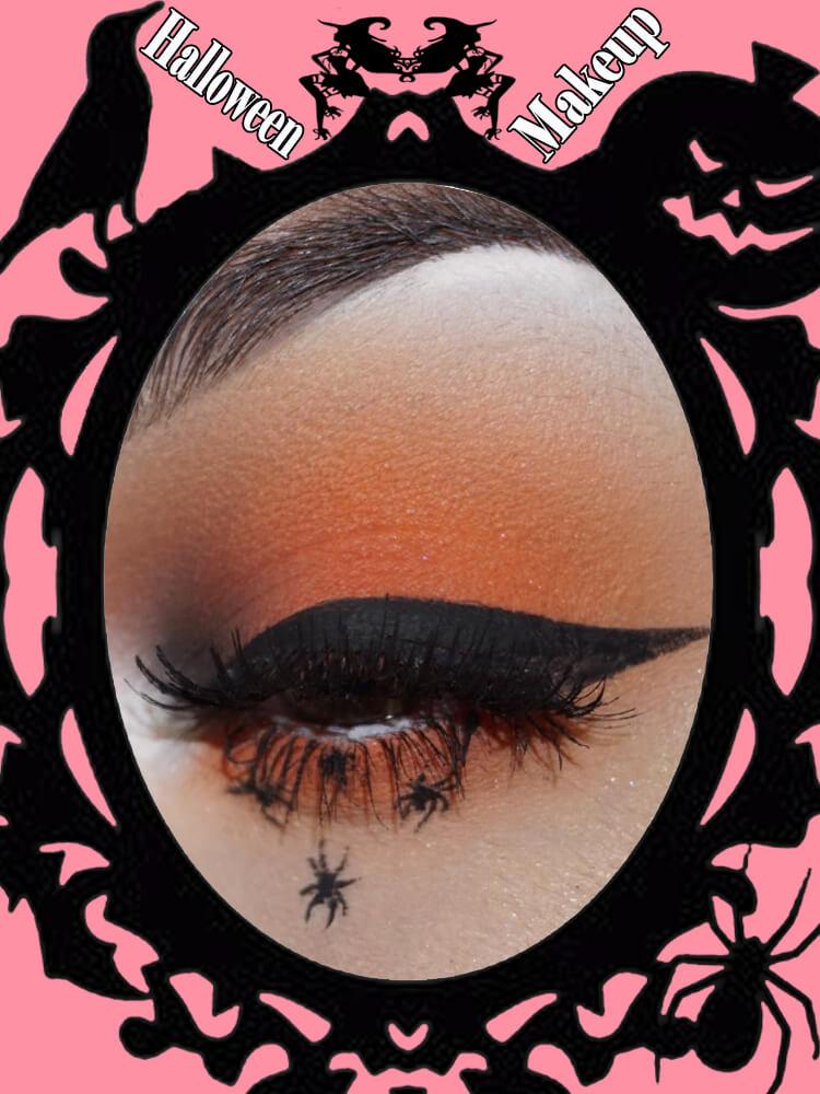 Halloween Eyeliner Makeup Ideas for Ladies 2