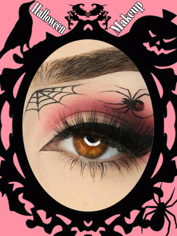 Halloween Eyeliner Makeup Ideas for Ladies 20