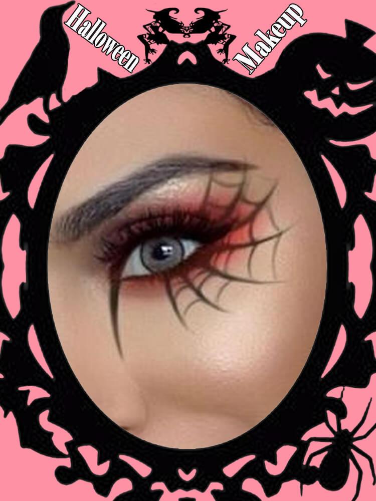 Halloween Eyeliner Makeup Ideas for Ladies 22