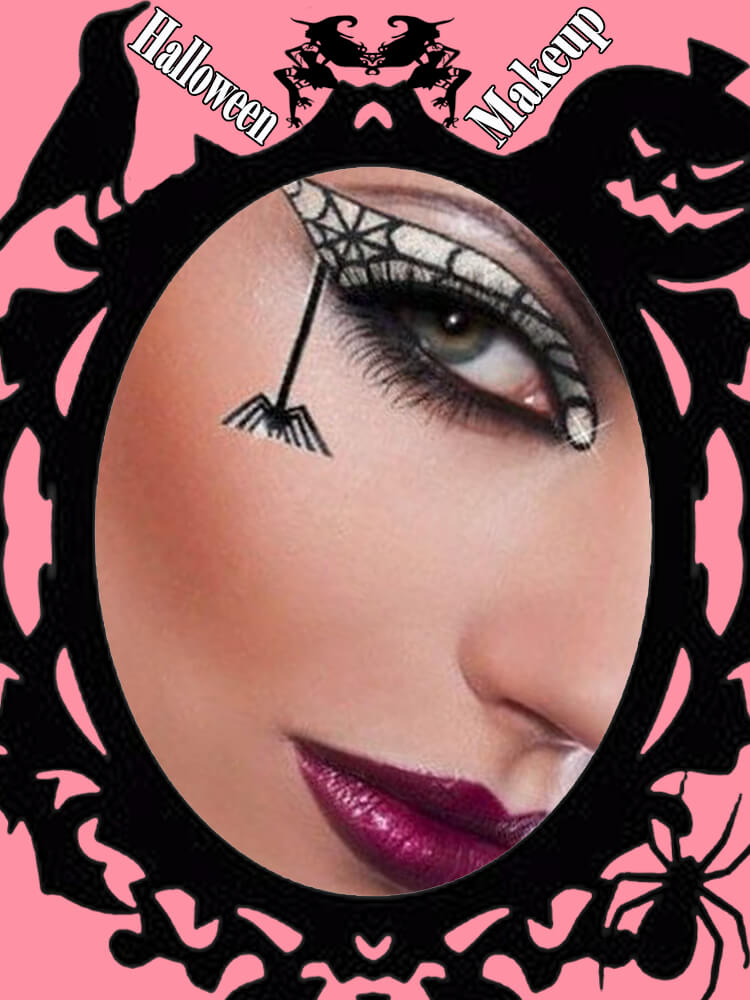 Halloween Eyeliner Makeup Ideas for Ladies 24