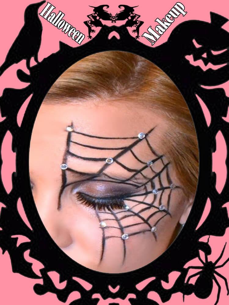 Halloween Eyeliner Makeup Ideas for Ladies 25