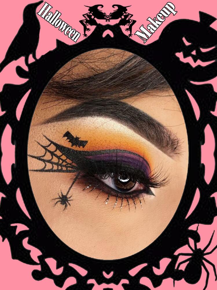 Halloween Eyeliner Makeup Ideas for Ladies 3