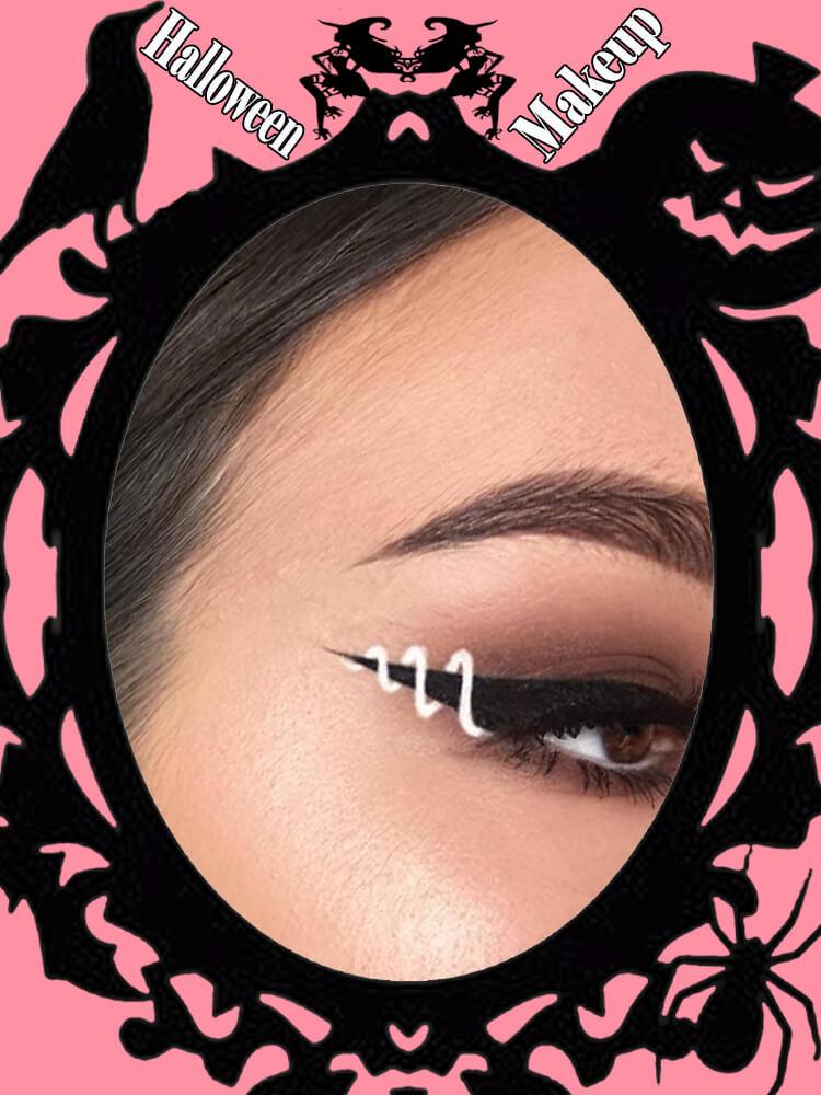 Halloween Eyeliner Makeup Ideas for Ladies 5