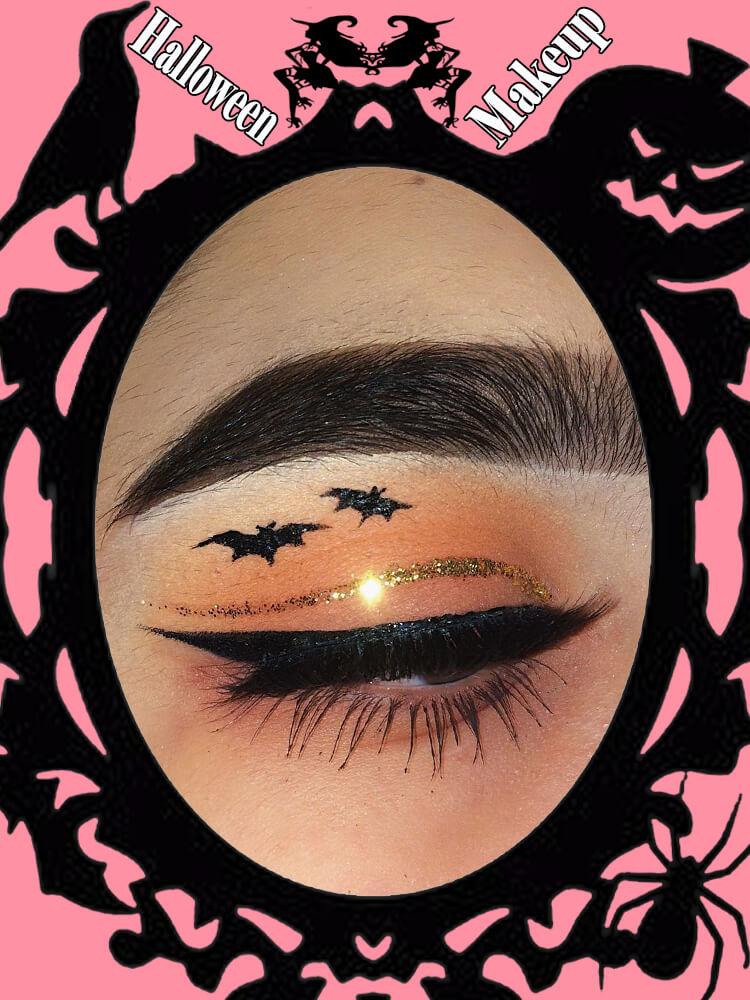 Halloween Eyeliner Makeup Ideas for Ladies 6