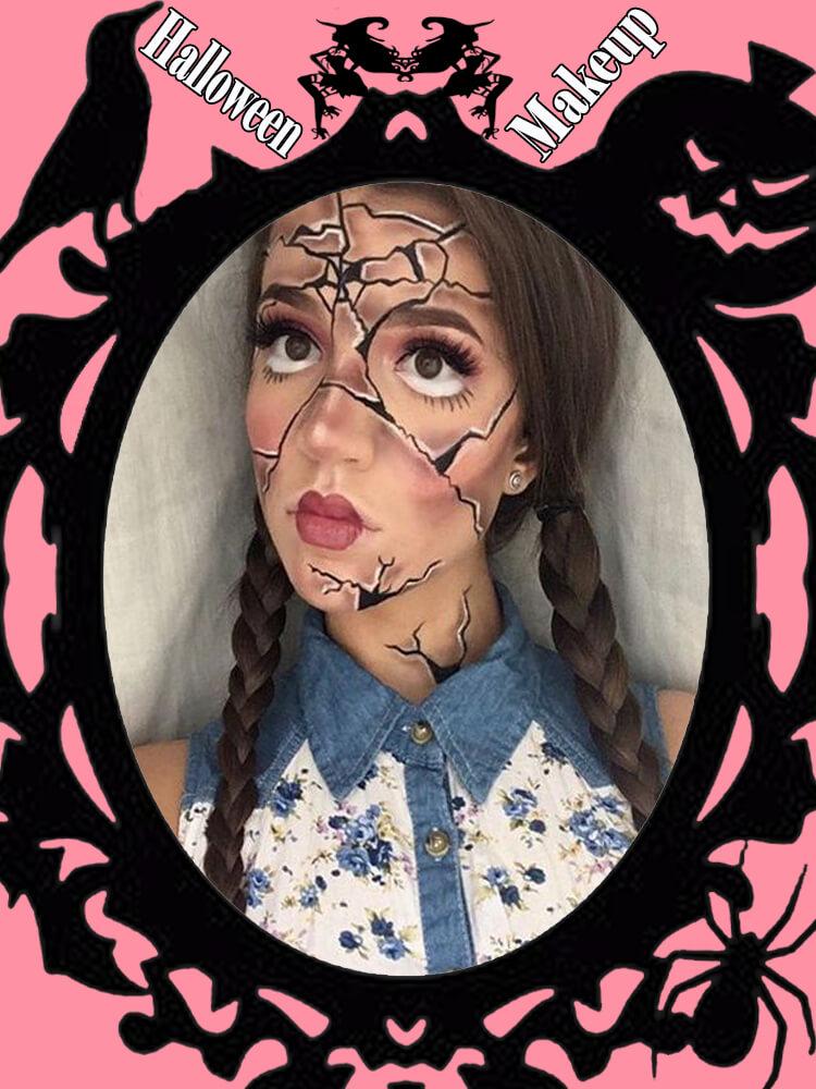 Halloween Makeup Ideas For Ladies S3-10