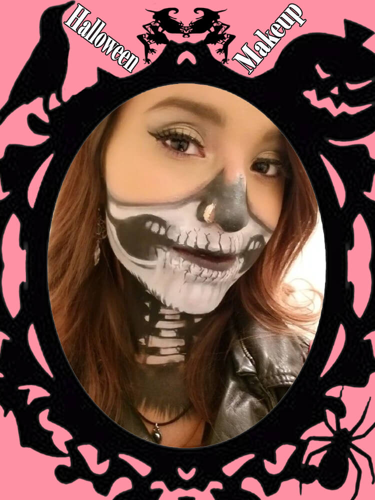 Halloween Makeup Ideas For Ladies S3-11