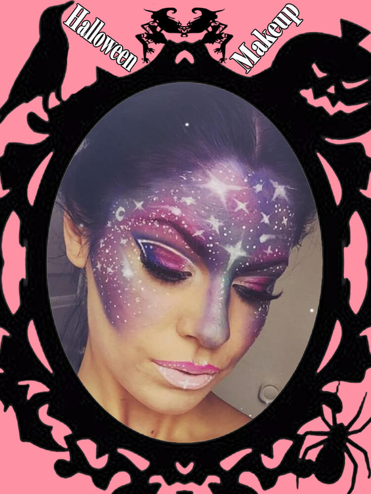 Halloween Makeup Ideas For Ladies S3-12