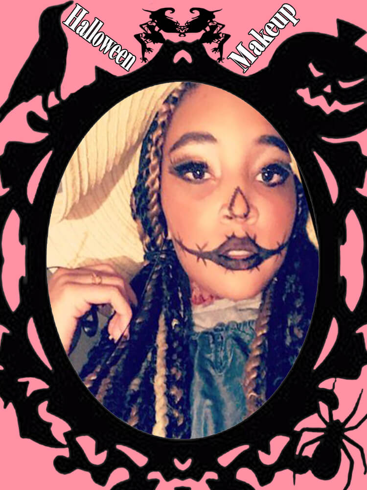 Halloween Makeup Ideas For Ladies S3-13