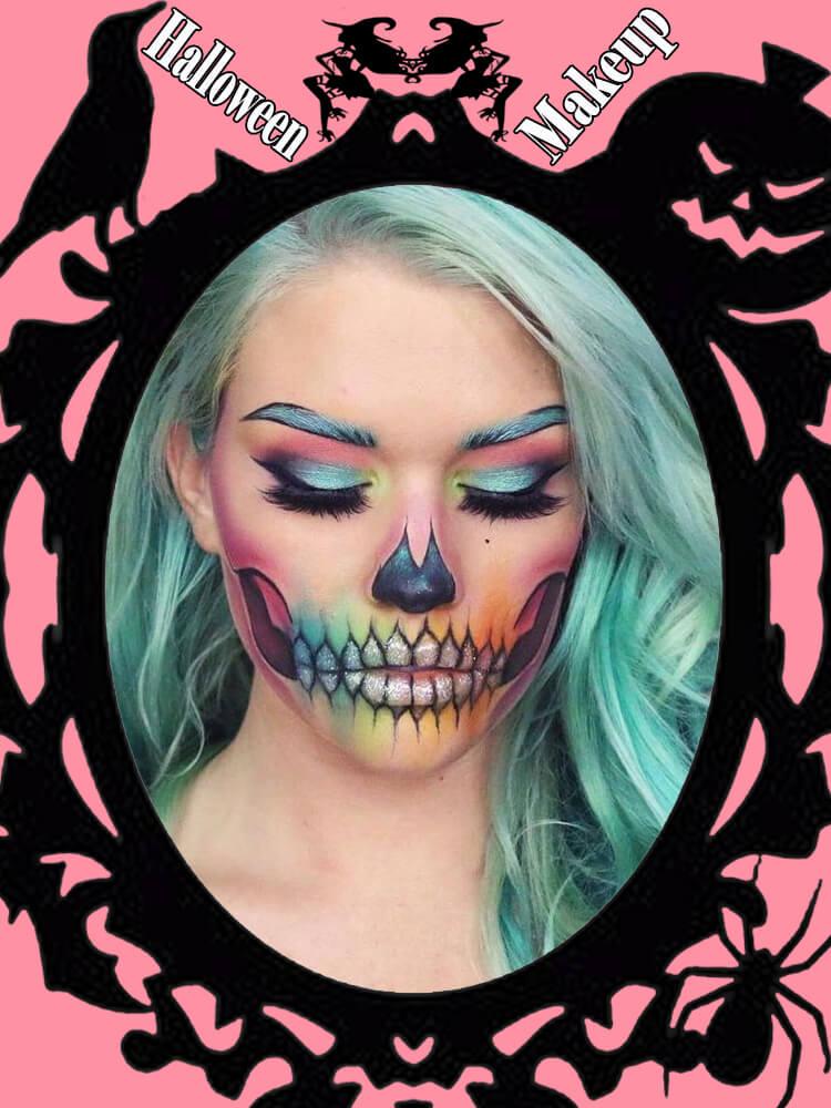 Halloween Makeup Ideas For Ladies S3-16