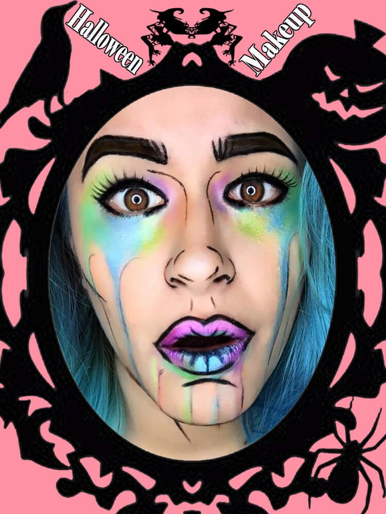 Halloween Makeup Ideas For Ladies S3-28