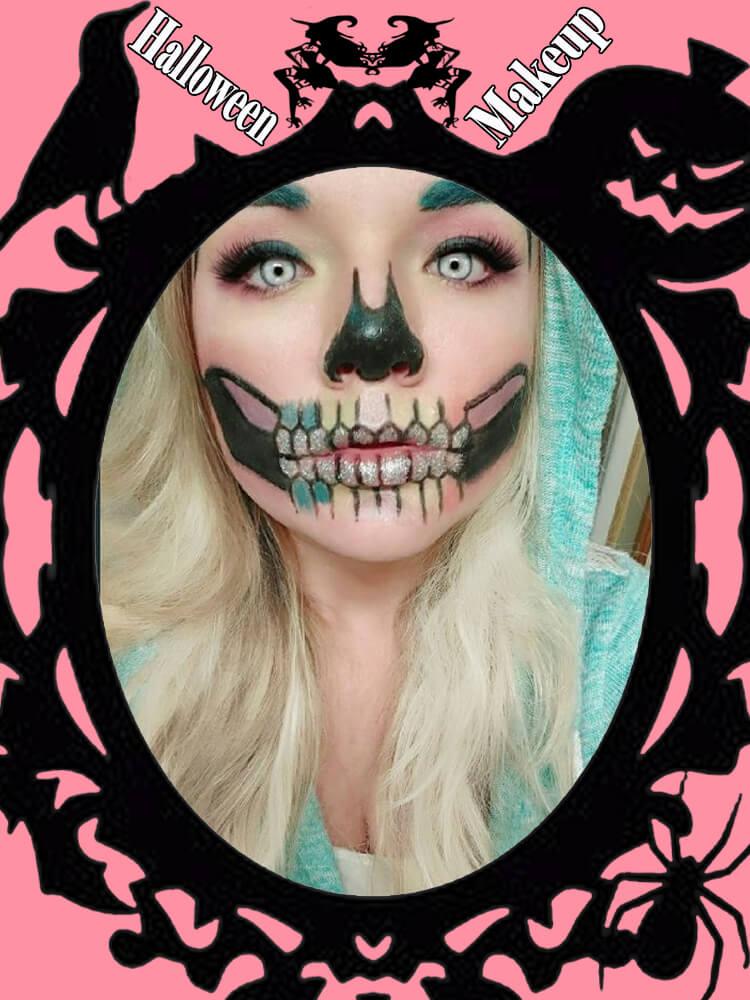 Halloween Makeup Ideas For Ladies S3-32