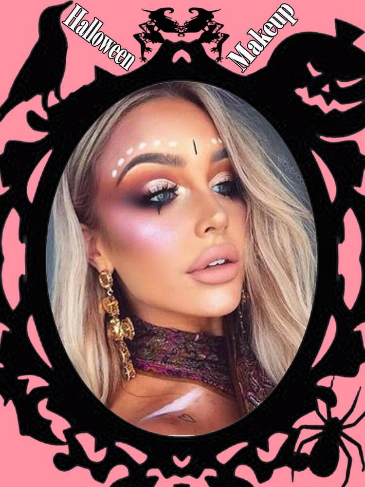 Halloween Makeup Ideas For Ladies S3-33