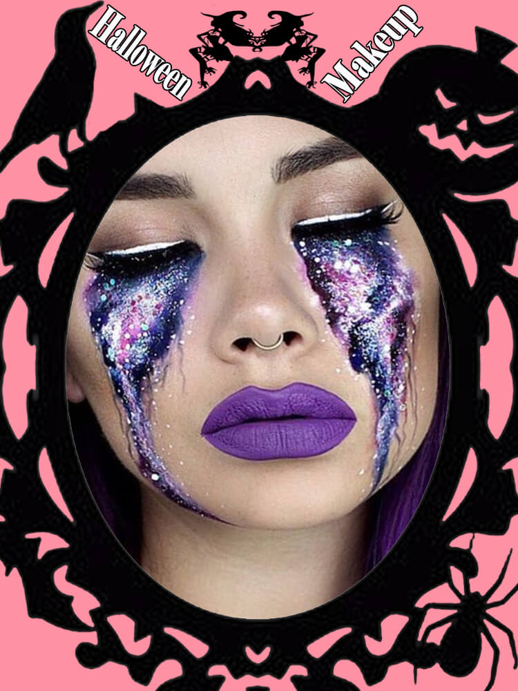 Halloween Makeup Ideas For Ladies S3-35