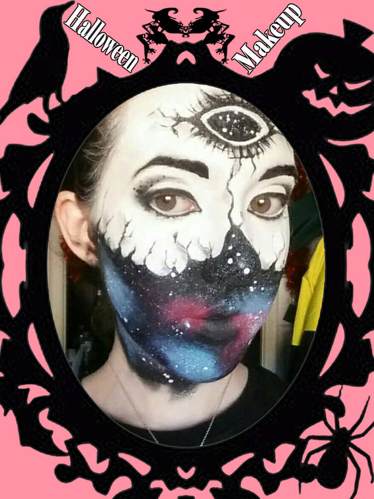 Halloween Makeup Ideas For Ladies S3-36