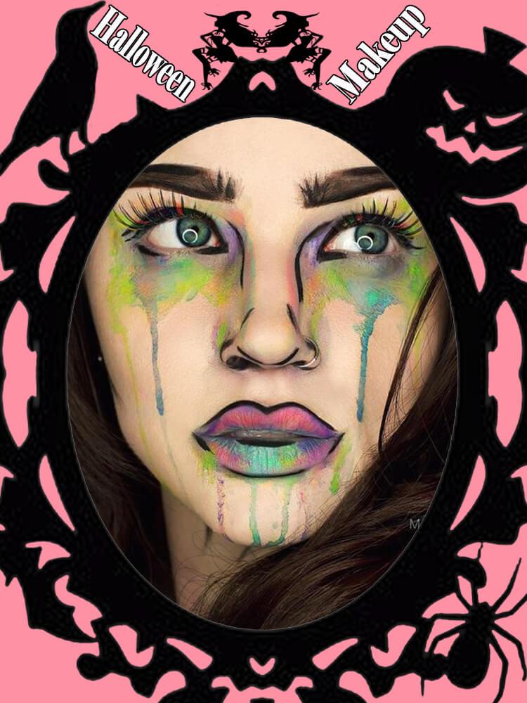 Halloween Makeup Ideas For Ladies S3-6