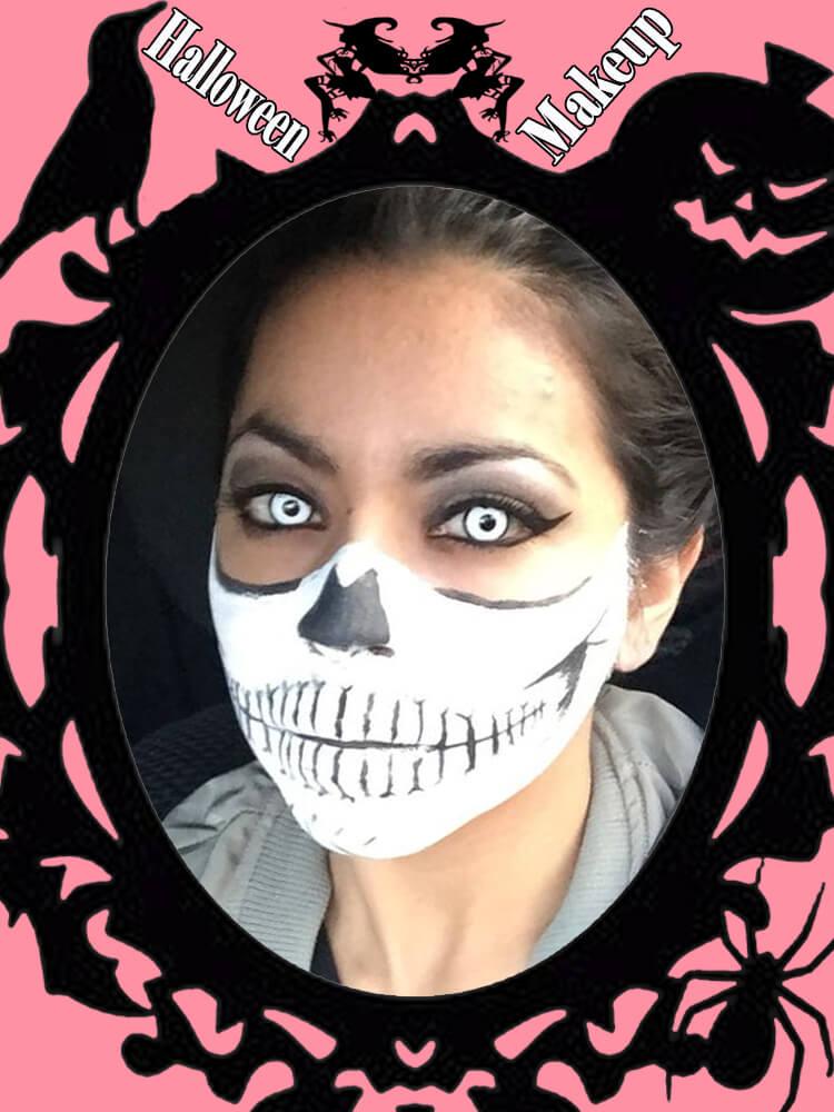 Halloween Makeup Ideas For Ladies S3-8