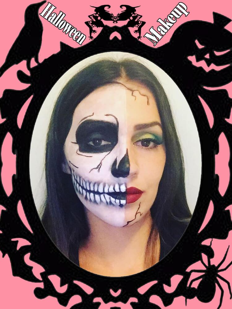 Halloween Makeup Ideas For Ladies S4-19
