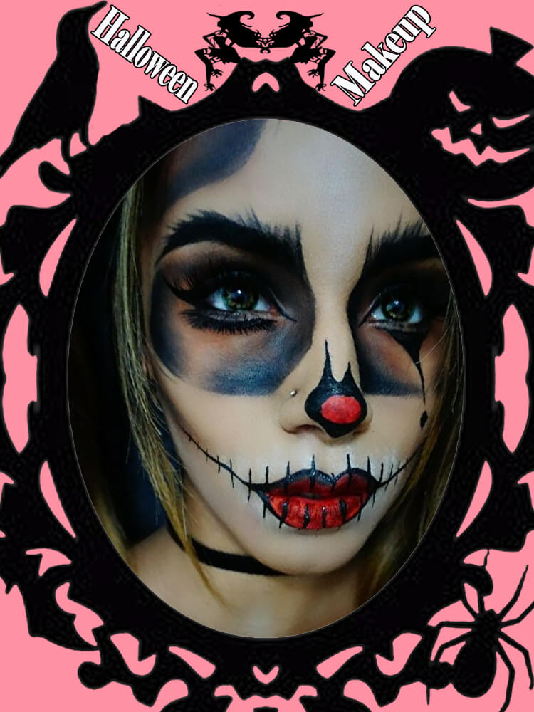 Halloween Makeup Ideas For Ladies S4-22