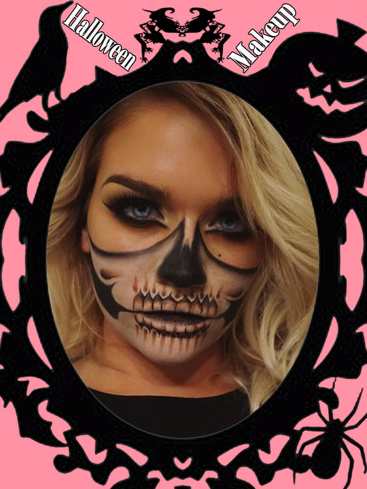Halloween Makeup Ideas For Ladies S4-24