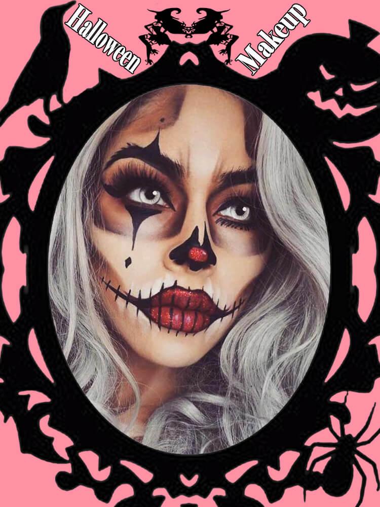 Halloween Makeup Ideas For Ladies S4-25