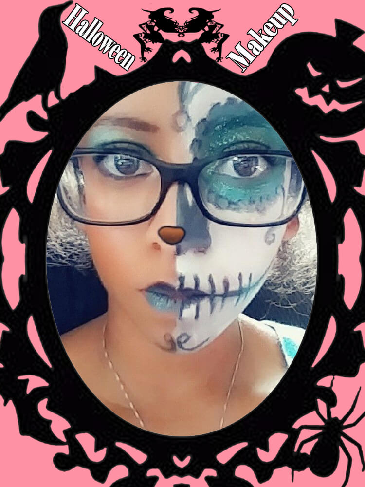 Halloween Makeup Ideas For Ladies S4-29