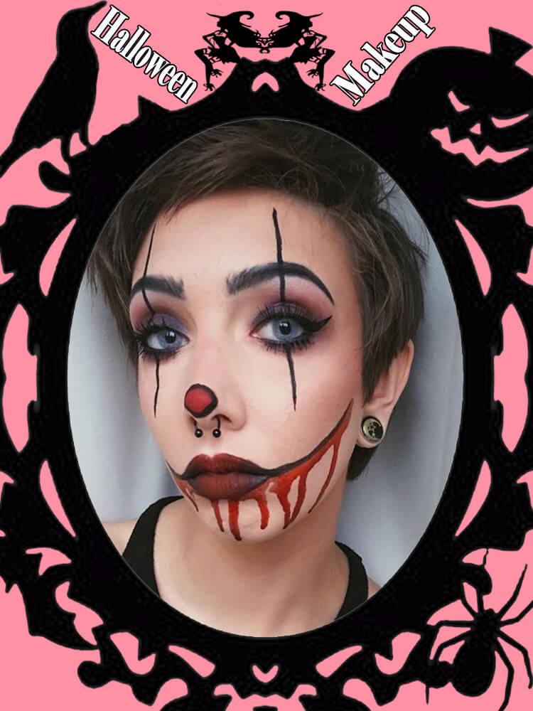 Halloween Makeup Ideas For Ladies S4-5