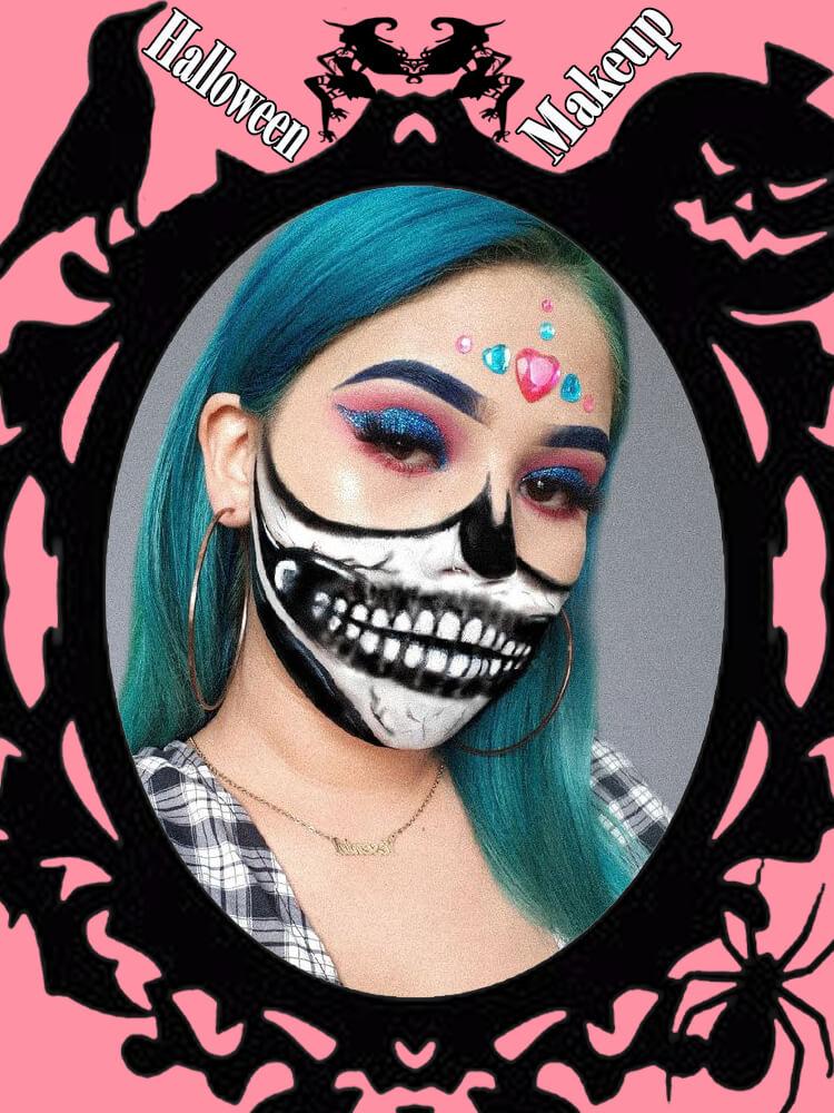 Halloween Makeup Ideas For Ladies S4-7