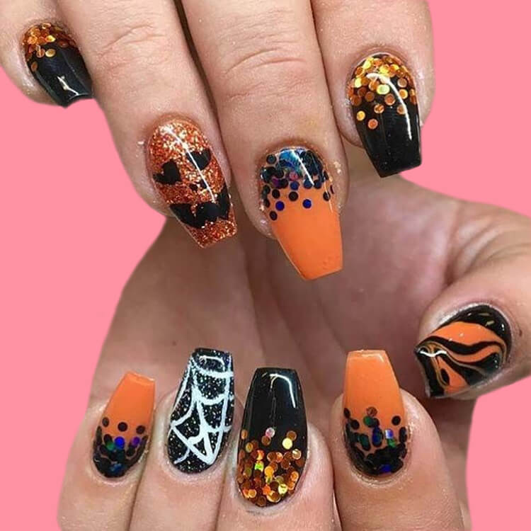 Halloween Nail Art Design 10