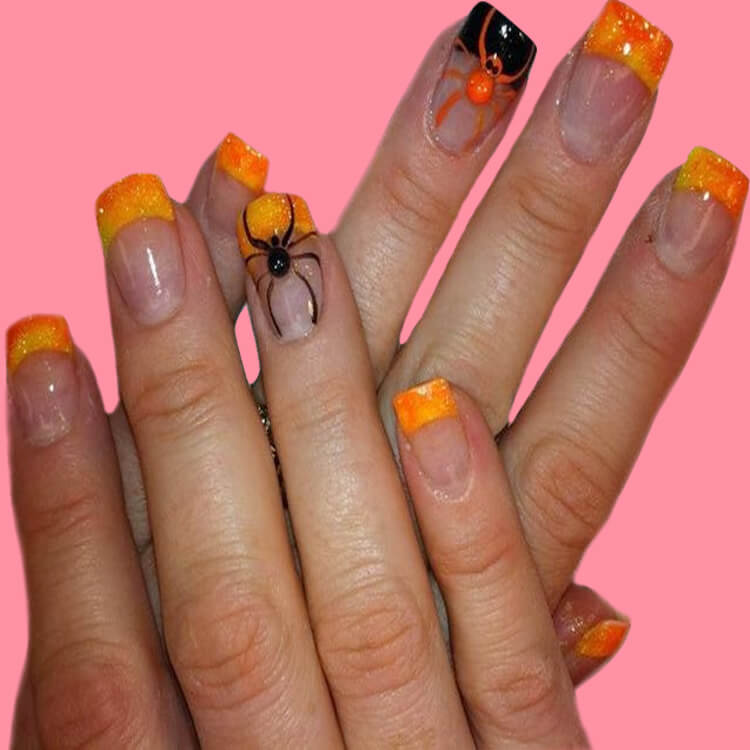 Halloween Nail Art Design 12