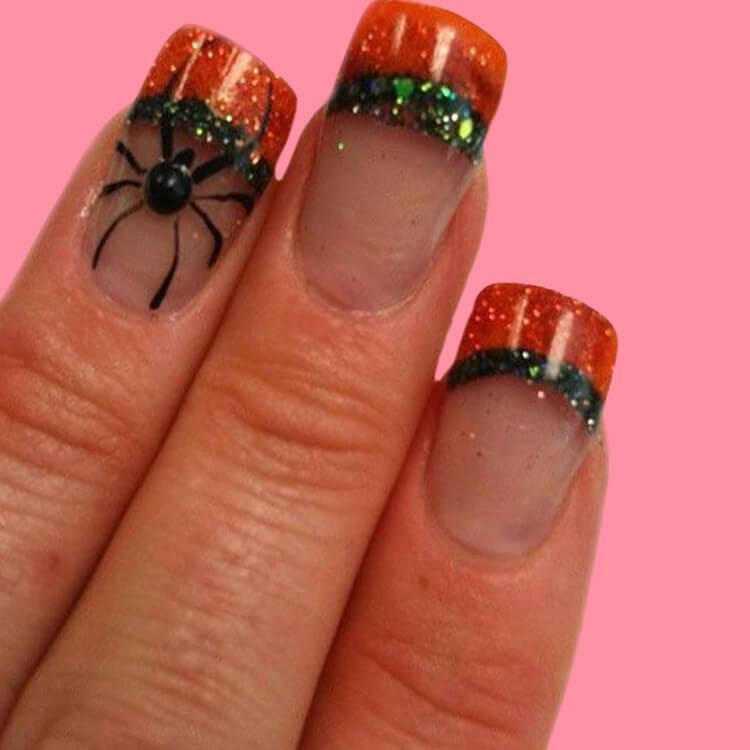 Halloween Nail Art Design 14