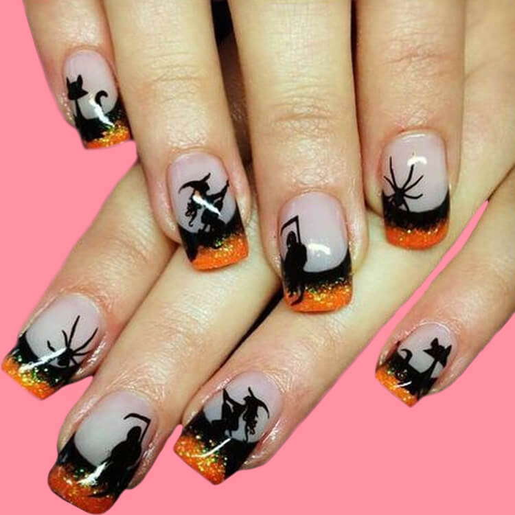 Halloween Nail Art Design 17