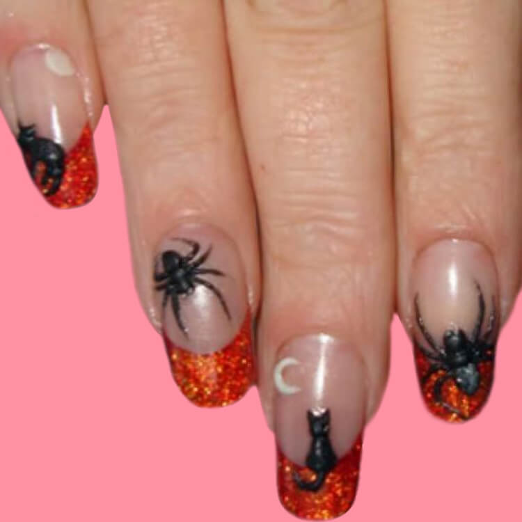 Halloween Nail Art Design 19