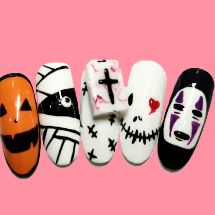 Halloween Nail Art Design 33
