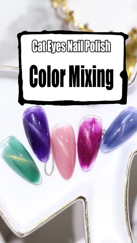 Mix Your Own Nail Polish Colors for Nail Art Designs 4